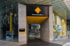 Succursale bancaire de Commonwealth, coin de St de Liverpool et de Castlereagh Images libres de droits