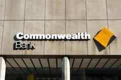 Succursale bancaire de Commonwealth sur la rue de Liverpool Photo stock