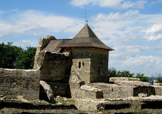 Suceava Fortress - Ancient Romanian Citadel Stock Photos