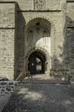 Suceava, romania, europe, fortress entrance Royalty Free Stock Images