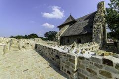 Suceava, romania, europe, fortress Stock Photography