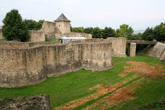 Suceava's fortress ruins Royalty Free Stock Photos