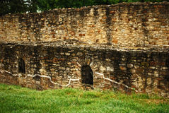 Suceava S Fortress Ruins Royalty Free Stock Photos
