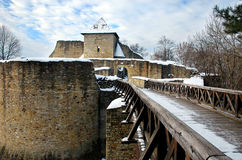 Suceavas Festung Lizenzfreie Stockfotos