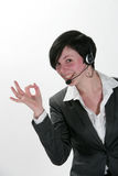 Sucess business Woman Stock Photo