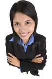 Sucess businesswoman Royalty Free Stock Photo