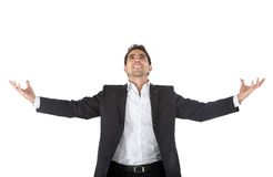 Sucessful business man Stock Images