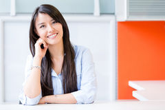 Sucessful business woman Royalty Free Stock Photography