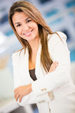 Sucessful business woman Stock Image