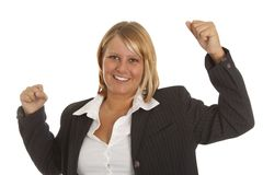 Sucessful businesswoman Stock Image