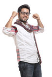 Sucessful indian young man Royalty Free Stock Photography