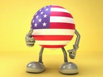 Sucesso americano Foto de Stock Royalty Free