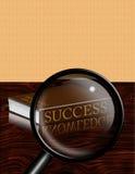 Sucesso-Conhecimento Fotografia de Stock Royalty Free