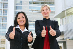 Sucesso da equipe do negócio da mulher Imagem de Stock