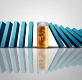Sucesso da medicina Fotografia de Stock