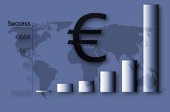 Sucesso da UE Fotografia de Stock Royalty Free