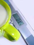 Sucesso de dieta Imagem de Stock