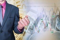 Sucesso de investimento conservado em estoque Imagens de Stock