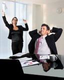 Sucesso de negócio Foto de Stock