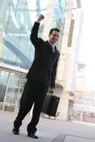 Sucesso do homem de negócio Fotos de Stock Royalty Free