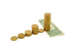 Sucesso financeiro Imagens de Stock Royalty Free