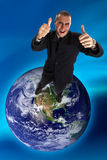 Sucesso global!!!! Fotos de Stock Royalty Free