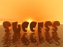 Sucesso - nascer do sol Fotografia de Stock Royalty Free