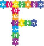 Sucesso-Planta-Companhia Imagens de Stock Royalty Free