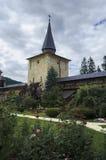 Sucevita修道院-罗马尼亚- Bucovina 库存照片