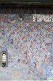Sucevita kloster Arkivfoto