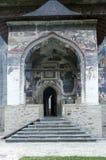 Sucevita kloster Royaltyfri Fotografi