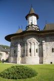 Sucevita kloster Arkivbilder