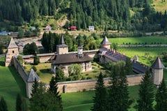 Sucevita monastery. The Sucevita monastery in summer Stock Photo