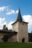Sucevita Monastery. Entrance Tower of the Sucevita orthodox monastery near Suceava, Romania Stock Photography