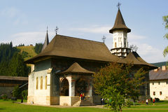 Sucevita Monastery. This is the Sucevita Monastery, from Moldavia, Romania Royalty Free Stock Photography