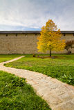 Sucevita Monastery Courtyard Royalty Free Stock Photography