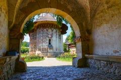 The Sucevita Monastery, Moldavia, Romania Royalty Free Stock Image