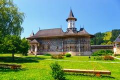 The Sucevita Monastery, Moldavia, Romania Stock Photography