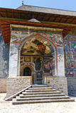 Sucevita Monastery, one of the famous painted monasteries in Romania, Romania Stock Images