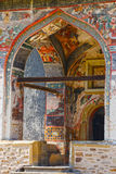 Sucevita Monastery, one of the famous painted monasteries in Romania, Romania Royalty Free Stock Photo