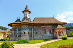 Sucevita Monastery, one of the famous painted monasteries in Romania, Romania Royalty Free Stock Images