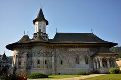 Sucevita monastery outdoor details Stock Image