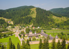 Sucevita Monastery, Romania Stock Photo