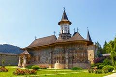 The Sucevita Monastery, Romania Royalty Free Stock Photography
