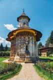 The Sucevita Monastery, Romania. The Sucevita Monastery is a Romanian Orthodox monastery situated in the commune of Sucevitai, Romania Stock Images