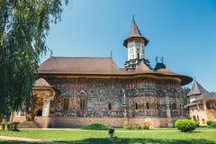 The Sucevita Monastery, Romania. The Sucevita Monastery is a Romanian Orthodox monastery situated in the commune of Sucevitai, Romania Stock Photography