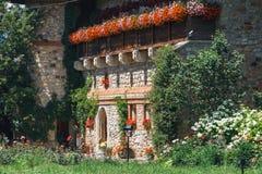 The Sucevita Monastery, Romania. The Sucevita Monastery is a Romanian Orthodox monastery situated in the commune of Sucevitai, Romania Royalty Free Stock Photo