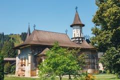 The Sucevita Monastery, Romania. The Sucevita Monastery is a Romanian Orthodox monastery situated in the commune of Sucevitai, Romania Royalty Free Stock Images