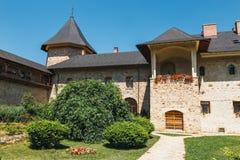 The Sucevita Monastery in romania. The Sucevita Monastery is a Romanian Orthodox monastery situated in the commune of Sucevitai, Romania Stock Images