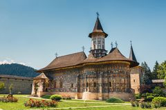 The Sucevita Monastery in Romania. The Sucevita Monastery is a Romanian Orthodox monastery situated in the commune of Sucevitai, Romania Royalty Free Stock Photos